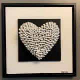 Pure Love (21x21 inches) $395