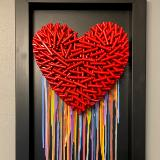 Love Is Forever (15x27 inches) $395