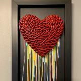 Love Is Love (15x27 inches) $395