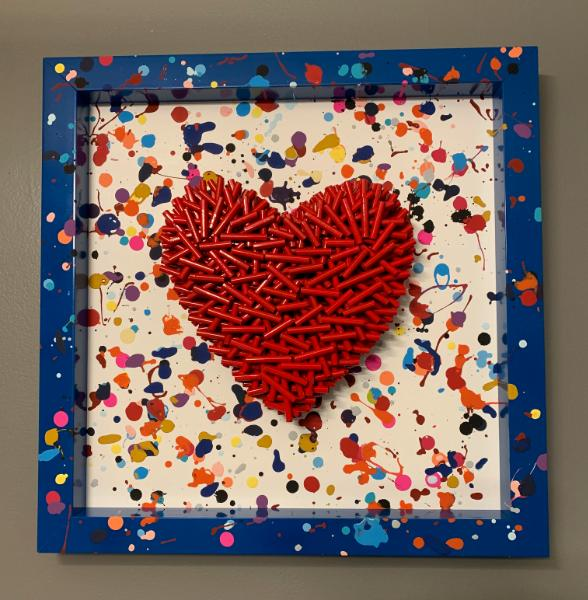 I Love You (21x21 inches) $395