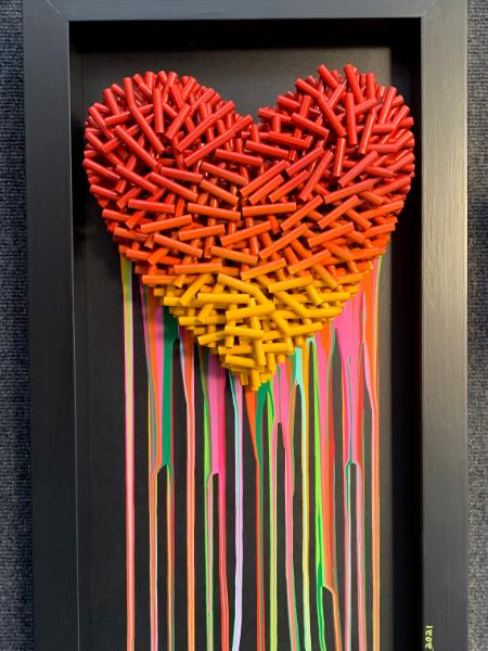 Whisper of Love (14x26 inches) $395